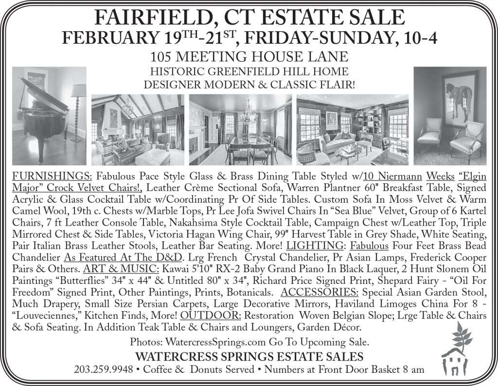 Watercress Springs Newspaper Ad