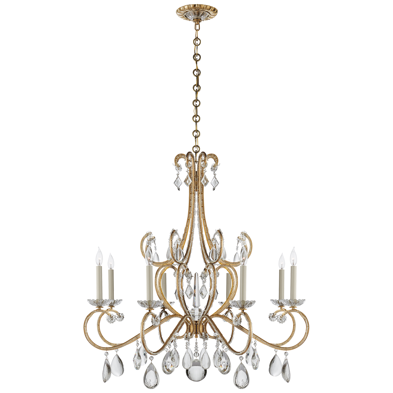 Decorator return brand new visual comfort montmartre chandelier for sale at watercress - Chandelier for sale ...
