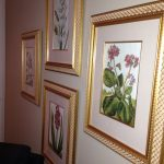 4-gold-framed-botanical-prints-flowers