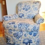 blue-yellow-floral-swivel-upholstered-chair