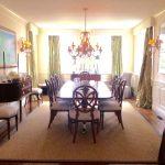 double-pedestal-dining-table-sideboard-lighting-art-fabulous-fortuny-drapery1
