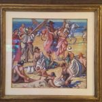 painting-by-william-samuel-horton-signed-titled-the-beach-deauville-20-5in-x-22in-gouche-and-watercolor1