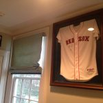 pair-of-redsox-jerseys-in-open-door-large-frame-signed-by-edgar-rentaria