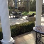 pair-of-round-wrought-iron-tables-and-chairs-pari-of-large-cement-elephant-planters