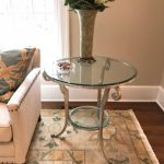 glass-top-side-table
