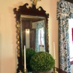 19thc Mirror Detail