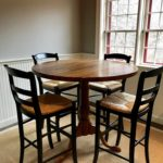 Breakfast Table And 4 Chairs And Sisal