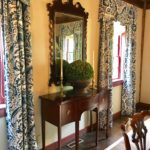 Petite Baker Charleston Collection Sideboard 19thc Chippendale Centennial Mirror