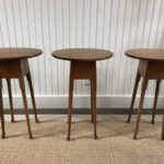 Trio Of Petite Side Stands Eldred Wheeler