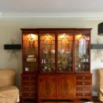 Arthur Brett And Sons Beautiful Cabinet 85 X 88 X 16