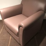 Bernhardt Leather Chair And Sofa