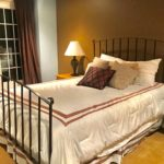 Iron Bed And Linens