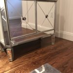 Mirrored Chest And West Elm 9 X 12 Carpet