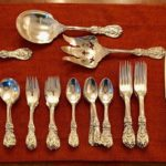 Sterling Flatware Reed And Barton Set (for 12) A Few Missing Pieces