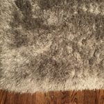 Wool Shag Carpet Platinum 7.6 X 9.6