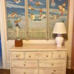 Childs Hand Painted Screen On Wall DREAM SEQUENCE Acylic On Panels
