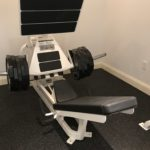 Cybex Plate Loaded Squat Press