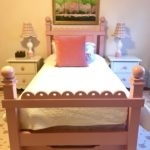 Dusty Pink Bed With Trundle And Storage By MAINE COTTAGE