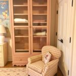 Dusty Pink Tall Cabinet By MAINE COTTAGE Furniture