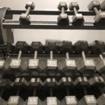Excersize Equipment Weights And Rack