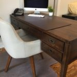 Crate And Barrel Modern Desk And Chair