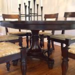 Crate And Barrel Oval Table And 6 Chairs