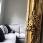French Mirror Detail