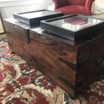 Captains Chest Cocktail Table With Storage