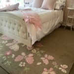 Custom Princess Headboard And Footboard And Bedding And 8 X 10 Carpet