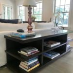 Custom Shelf Unit For Media Or As Sofa Table