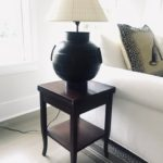 Pair Of Lewis Mittman Side Stands Open In Center