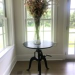 Rockwell Metal Adustable Cafe Table From Four Hands