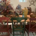 Country Table And Set Of 6 Chairs