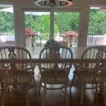 Creme Dining Table And