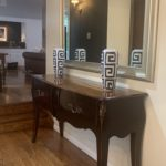 French Antique Console And Mirror