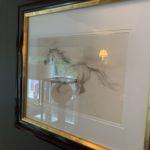 Horse Sketch Framed