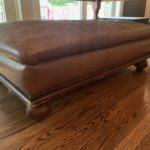 Leather Ottoman Cocktail Table