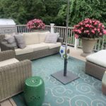 Outdoor Woven Furniture , Sectional And Settee Lillian And Restoration