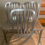 Set Of Aluminim Chairs