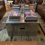 Timothy Oulton Steamer Trunck Cocktail Table 50 X 31 X 17