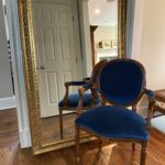 5Ft Beveled Gilt Mirror