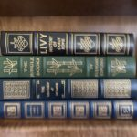 Many Easton Press Leather Books