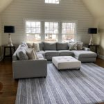 Potery Barn Sectional 11 12ft , Carpet Approx 11 11