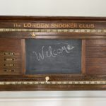 The London Snooker Club Board! 45 L X 25 H