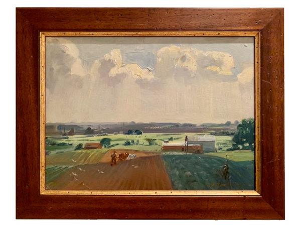 July on the Farm Painting
