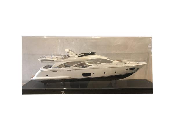 Model of Azimut Yacht in Acrylic Case