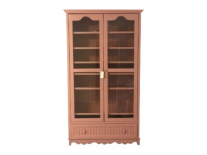 Pink Tall Cabinet