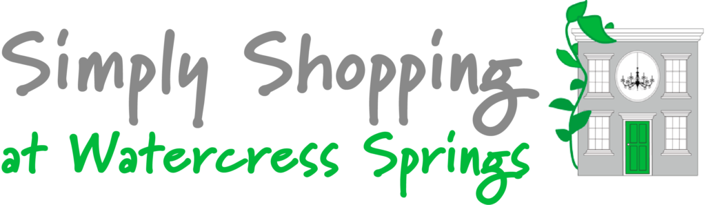 Simply Shopping At Watercress Springs