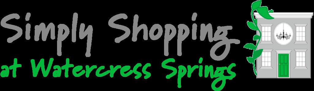 Simply Shopping At Watercress Springs