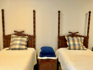 Bamboo Style Twin Bed